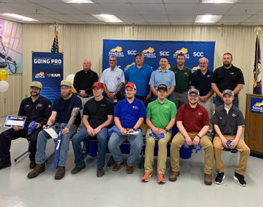Shows rookies in advanced manufacturing and the companies they'll be working for participated in the first ever Kentucky Manufacturing Going Pro Signing Day