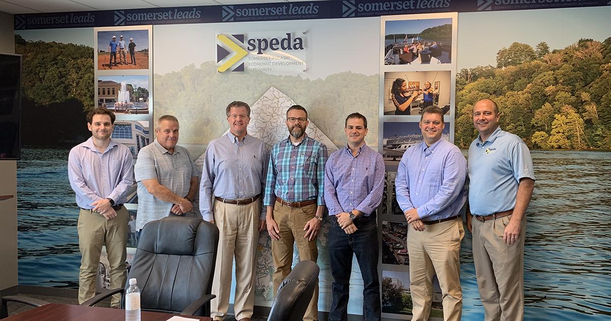 Kentucky Crossroads members in SPEDA board room
